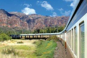 Podróż pociągiem po Afryce