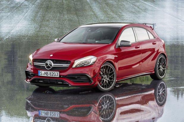 Odm�odzony  Mercedes klasy A | Dynamicznie i bardzo mocno