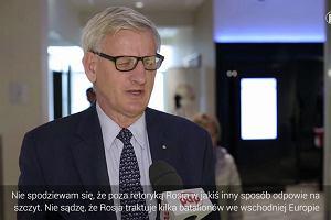Bildt: wojska NATO w Europie Środkowo-Wschodniej to dobry krok, ale nie przestraszy Rosjan