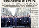 Gdzie jest Merkel? Gdzie Kopacz? Żydowska gazeta wymazała kobiety ze zdjęcia. Tuska też