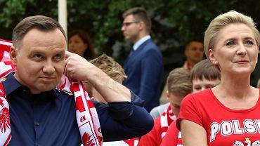 Andrzej Duda i Agata Duda, Mistrzostwa Świata w Piłce Nożnej Rosja 2018