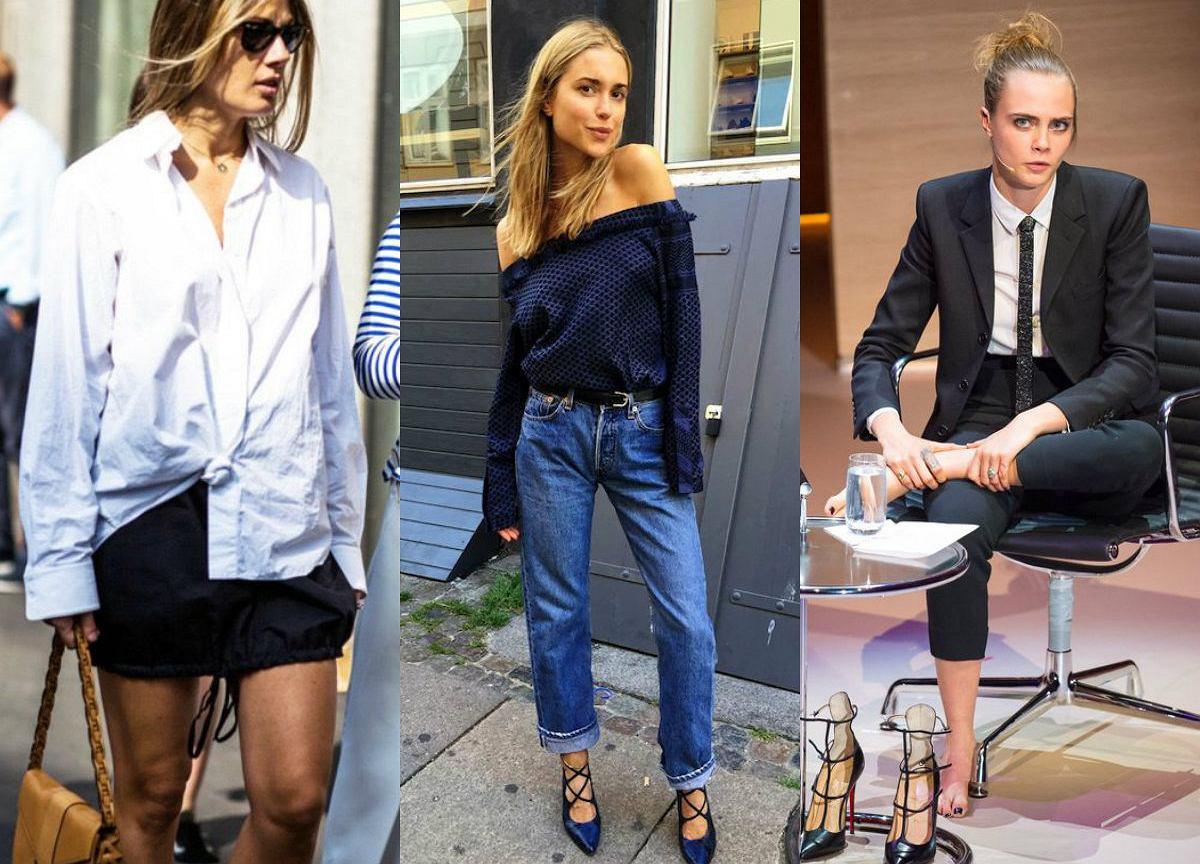 938ff9f2110f Męskie ubrania w kobiecych stylizacjach - zobacz jak to zrobić