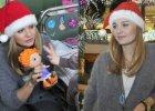 Ma�gorzata Socha rozdawa�a dzieciom prezenty. Do twarzy jej w czapce Miko�aja?