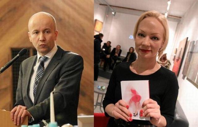 Marek Duklanowski i Agata Zbylut
