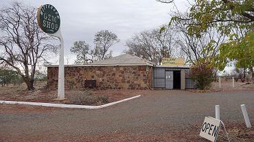 Wymarłe miasteczko Wittenoom w Australii