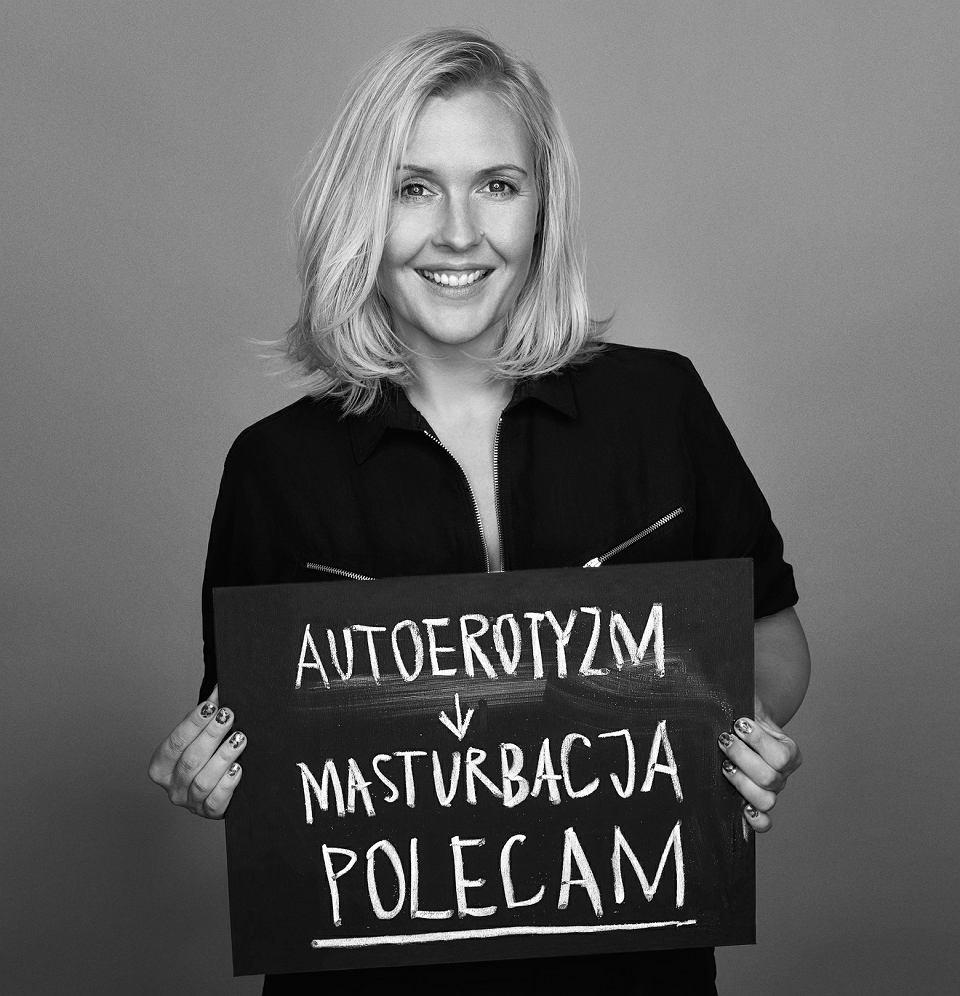 Marta Frej w kampanii Anji Rubik #SEXEDPL