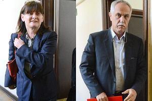 Małgorzata Żak i Zygmunt Solorz-Żak.