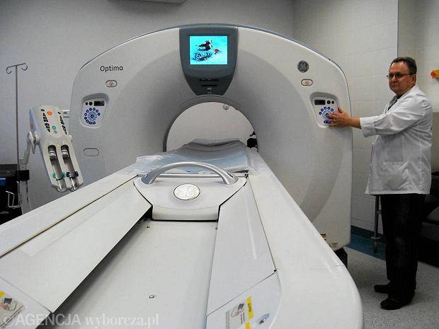 Przychodzi komornik do szpitala. Zajmuje supernowoczesny tomograf!