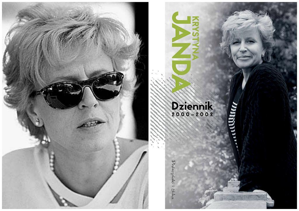Pierwszy tom dzienników Krystyny Jandy ukazał się nakładem Wydawnictwa Prószyński i S-ka (fot. Agencja Gazeta / materiały prasowe)