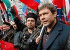 """Proputinowska manifestacja w Moskwie: """"Rocznica Majdanu. Nie zapomnimy, nie wybaczymy"""""""
