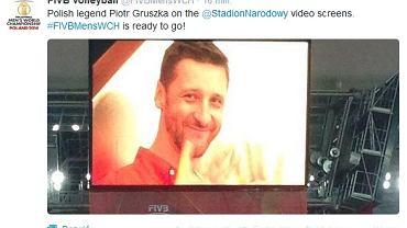 Pożegnianie Piotra Gruszki