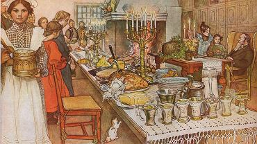 Julaftonen Carl Larsson