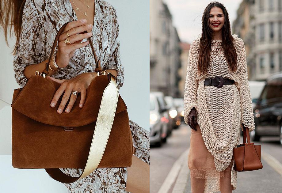 Camelowa torebka - modny dodatek na jesień