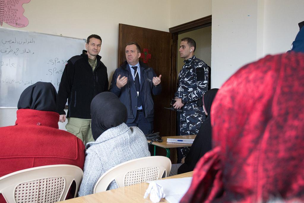 Premier Mateusz Morawiecki a Libanie