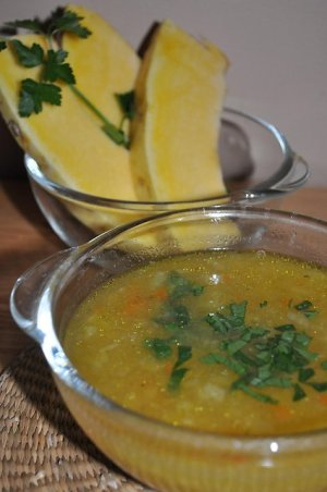Zupa - przysmak dyniowy
