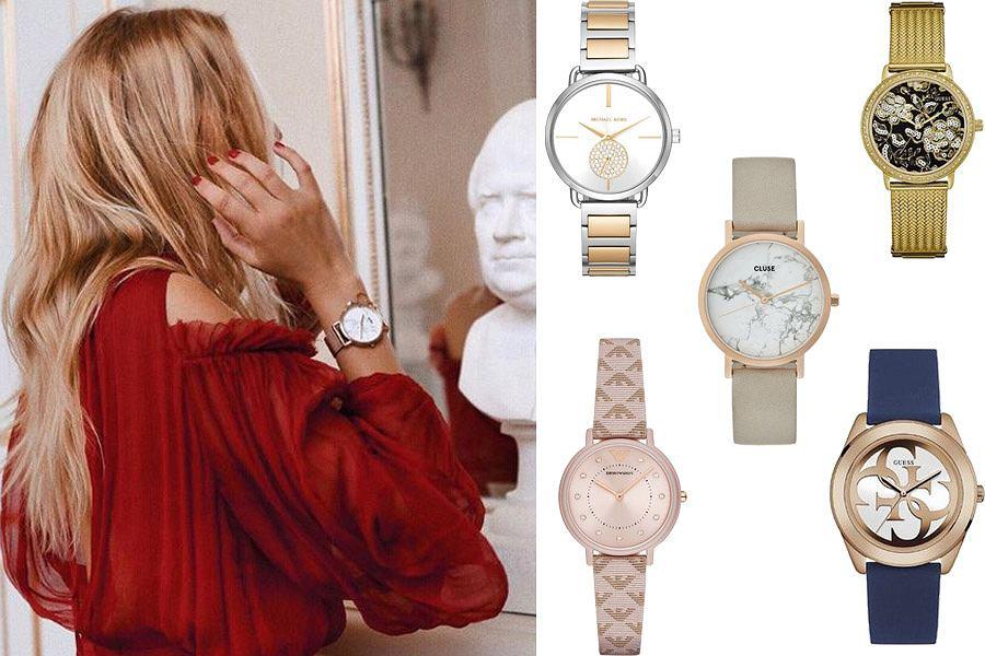 Kolaż, zegarki/Materiały partnera