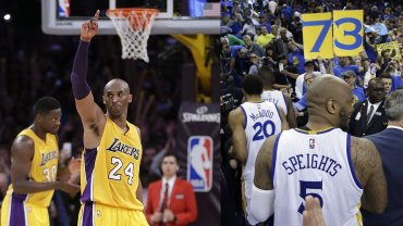 Kobe Bryant i rekord Golden State Warriors