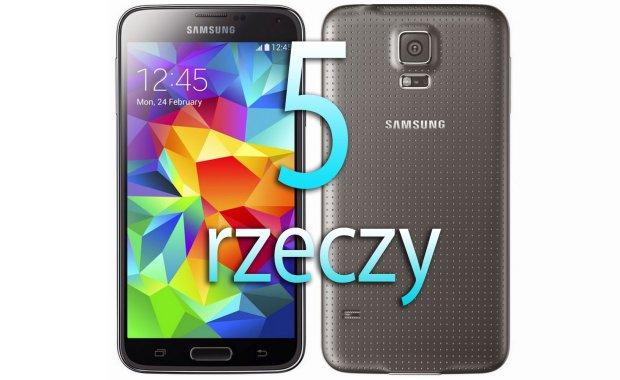 Samsung Galaxy S5 - 5 rzeczy o pi�tym Galaxy S