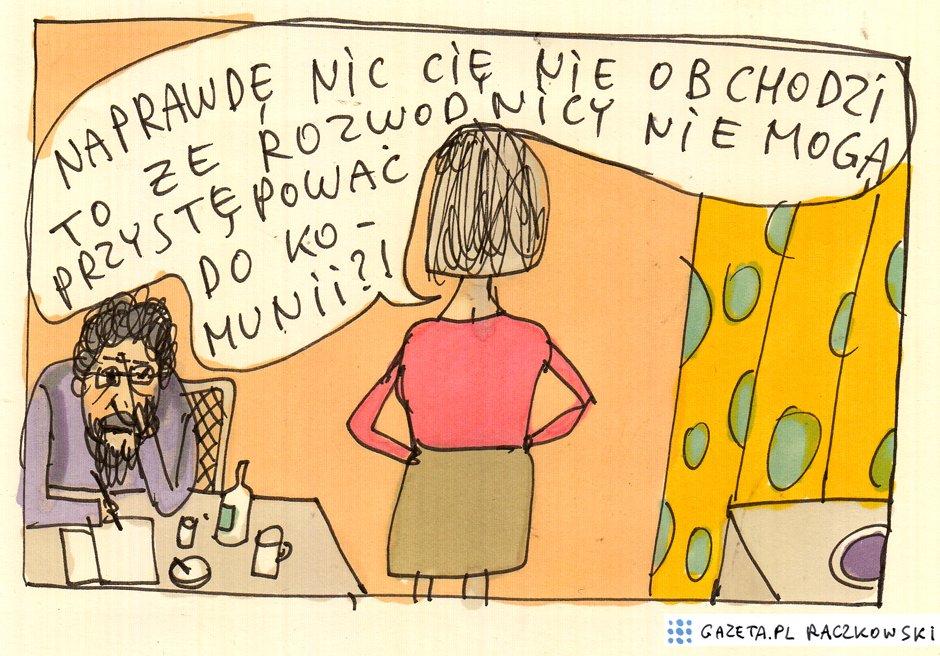 Marek Raczkowski dla Gazeta.pl - 22.10.2014 - rys. Marek Raczkowski