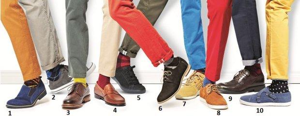 M�skie p�buty: jak je ��czy� ze spodniami i skarpetkami?