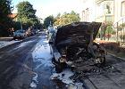 Policja zatrzyma�a podejrzanego o podpalenie samochod�w w Gda�sku