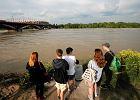 Stan wody w Wi�le osi�gn�� rekordowy poziom. Teraz spada