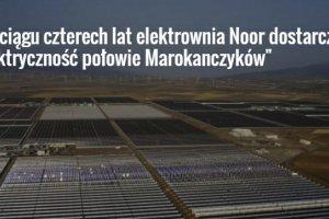 Na Saharze powstaje najwi�ksza elektrownia s�oneczna na �wiecie. Wi�ksza ni� Rzesz�w
