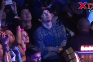 """Mila Kunis i Ashton Kutcher na koncercie Madonny. Aktorka tańczyła, śpiewała... """"Szaleli na widowni"""""""