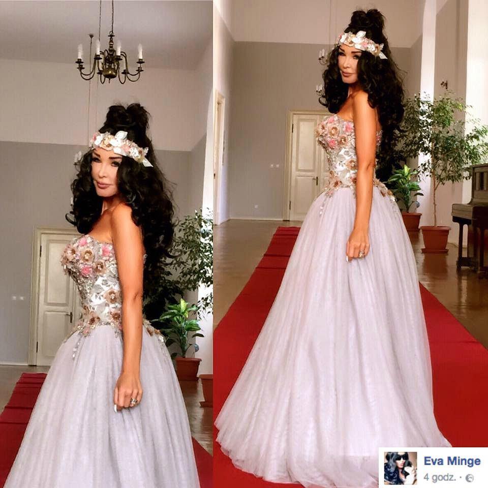 aefd262ebe Eva Minge wzięła ślub. Ile miała sukni ślubnych  Jak wyglądał tort  Dużo  zdjęć