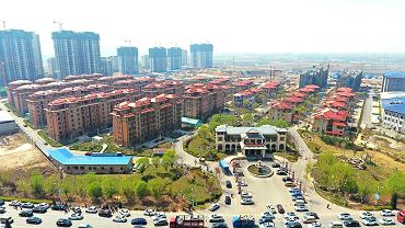 Xiongan, prowincja Hebei.