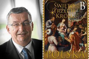 Zamiast znaczka WOŚP Poczta wyemitowała znaczek z obrazem z parafii ministra