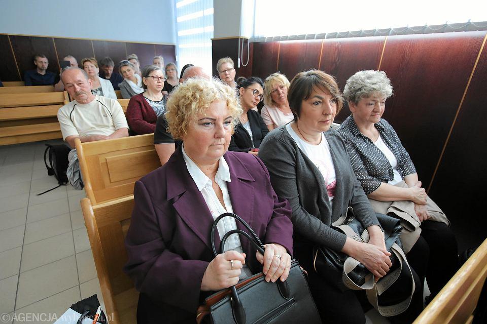 30 kwietnia 2018 r. Ogłoszenie wyroku w sprawie 'czyścicieli' kamienic. Zgromadzeni w sali lokatorzy bili brawo po zakończeniu uzasadnienia wyroku