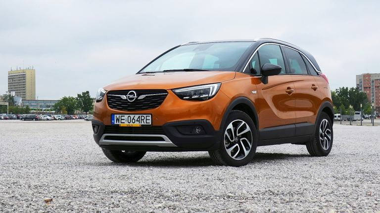 Opel Crossland X - test, opinie
