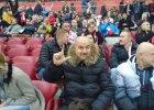 Stanis�aw Czerczesow na Stadionie Narodowym.Trener Legii ogl�da� mecz Polska - Islandia