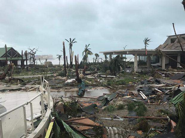Saint Martin po przejściu huraganu Irma