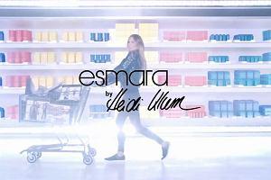 Spot promujący kolekcję Esamara by Heidi Klum dla Lidla