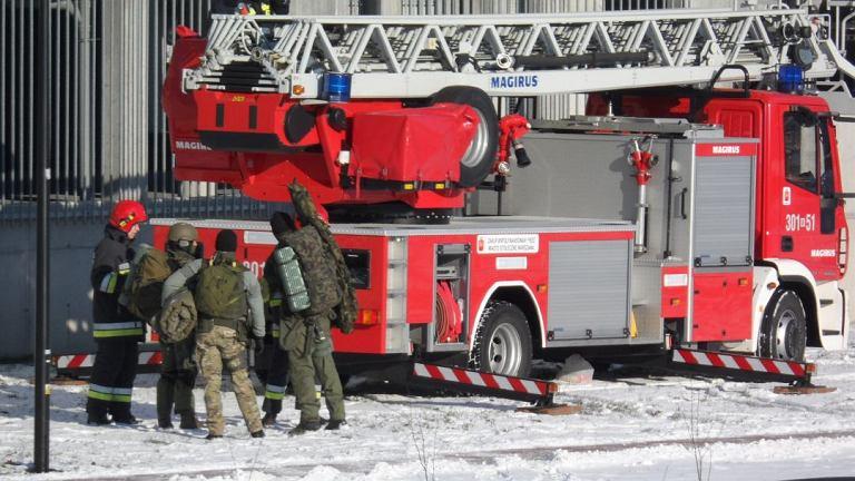 Mężczyzna zabarykadował się w mieszkaniu przy Jagiellońskiej w Warszawie