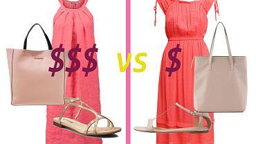 Niemal identyczne stylizacje, ale r�nica cen? Ogromna! Kt�r� wybierzesz?