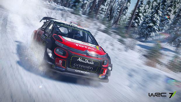 Screen z gry WRC 7