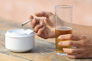 Nie mieszaj... papierosów z alkoholem