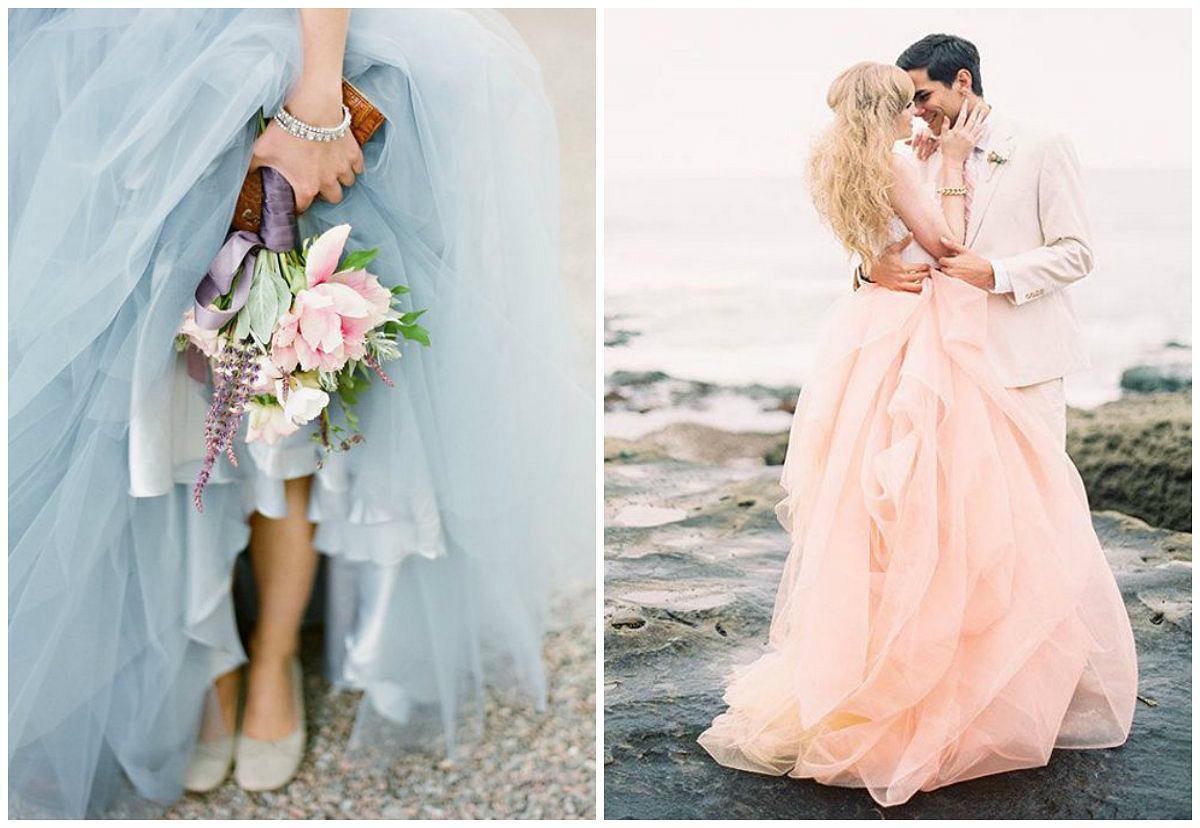 e105493c97 Suknia inna niż biała. Zobacz najpiękniejsze kolorowe suknie ślubne   GALERIA