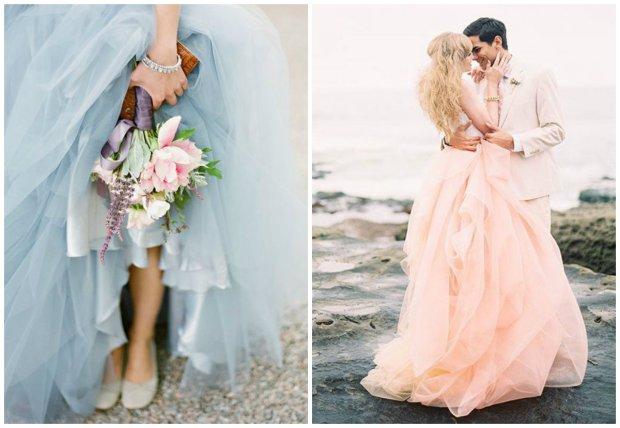 4e295dcbe1 Suknia inna niż biała. Zobacz najpiękniejsze kolorowe suknie ślubne   GALERIA