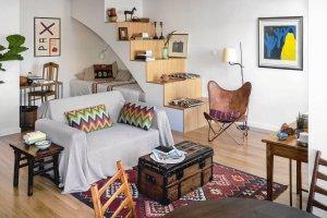 Mieszkanie podr�niczki - pe�ne egzotycznych pami�tek