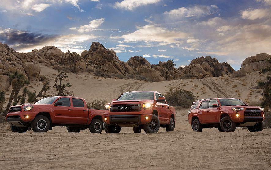 Toyota Tacoma, Tundra i 4Runner TRD Pro Series
