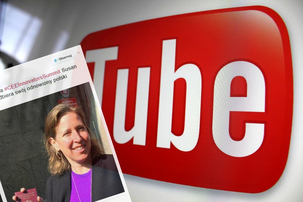 Prezes YouTube przyjechała do Polski