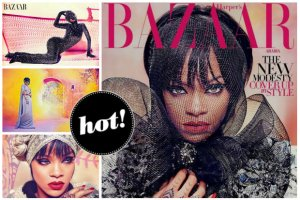 """Sesja roku? Zjawiskowa Rihanna nie do poznania na magicznych zdj�ciach w """"Harper's Bazaar Arabia"""". Jeden komentarz: WOW!"""