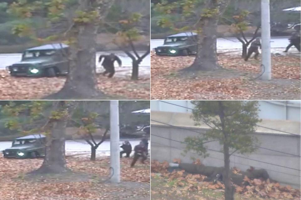 Ucieczka żołnierza z Korei Północnej