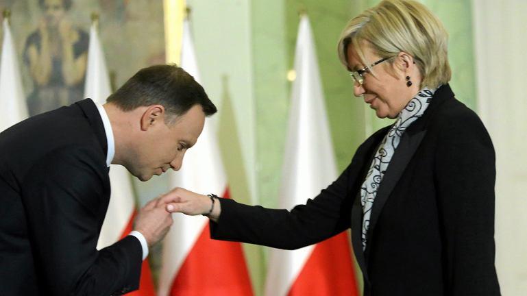 Prezes TK z nadania PiS sędzia Julia Przyłębska