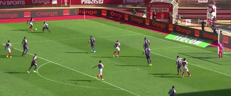 Ligue 1. AS Monaco - Toulouse 3:1. Kamil Glik daje sygnał do ataku [ELEVEN SPORTS]