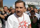 """Przewodnicz�cy """"Solidarno�ci"""" Piotr Duda podczas obchod�w rocznicy Sierpnia '80"""